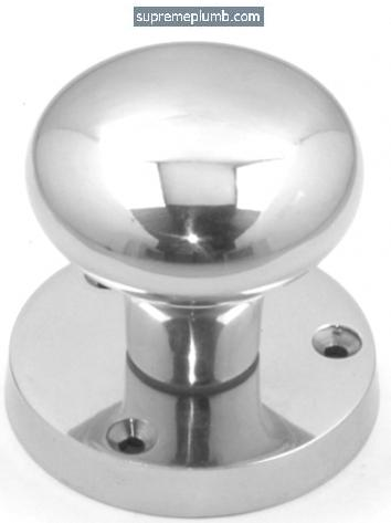 Victorian Mortice Knob HOT FORGED Chrome Plated