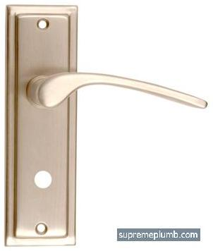Roma Lever Bathroom Satin Nickel