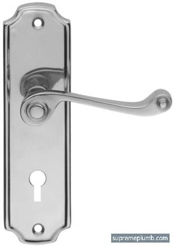 Florence Lever Lock Chrome Plated