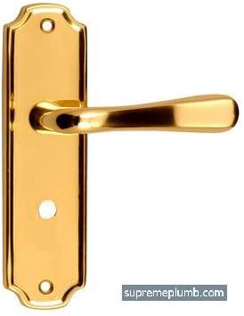 Vienna Lever Bathroom Polished Brass - DISCONTINUED