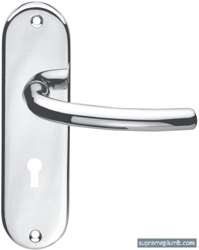 Milan Lever Lock Chrome Plated