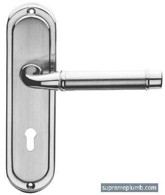 Chateau Lever Lock Chrome Plated - Mat Chrome