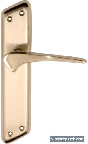 Jupiter Lever Latch Satin Nickel