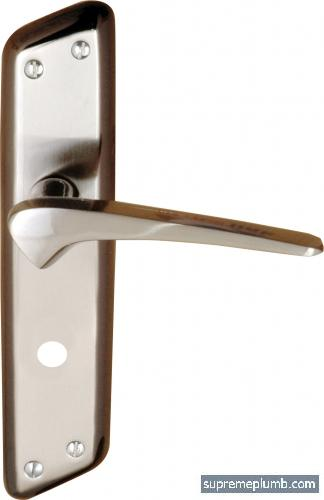 Jupiter Lever Bathroom Satin Black Nickel