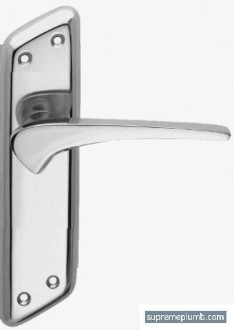 Neptune Lever Latch Chrome Plated