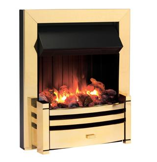 Dimplex Charlotte Brass - CRT20BR - COLLECTION ONLY