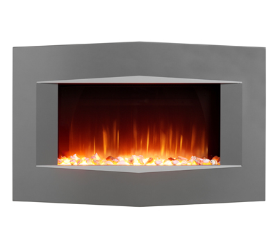 burley acumen flueless gas fire black 116600bk burley. Black Bedroom Furniture Sets. Home Design Ideas