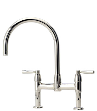 IO 2-3 Hole Sink Mixer With Lever Handles Chrome C12106
