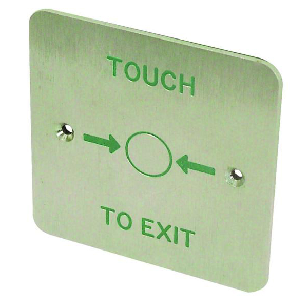 ASEC AS06771 Touch Sensitive 1 Gang Exit Plate - AS06771 - AS06771 1