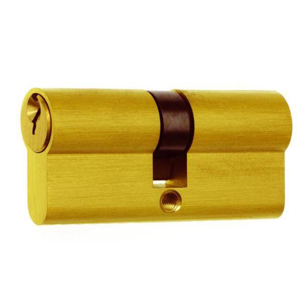 Era 5 Pin Euro Double Cylinder 105mm 30 75 Satin