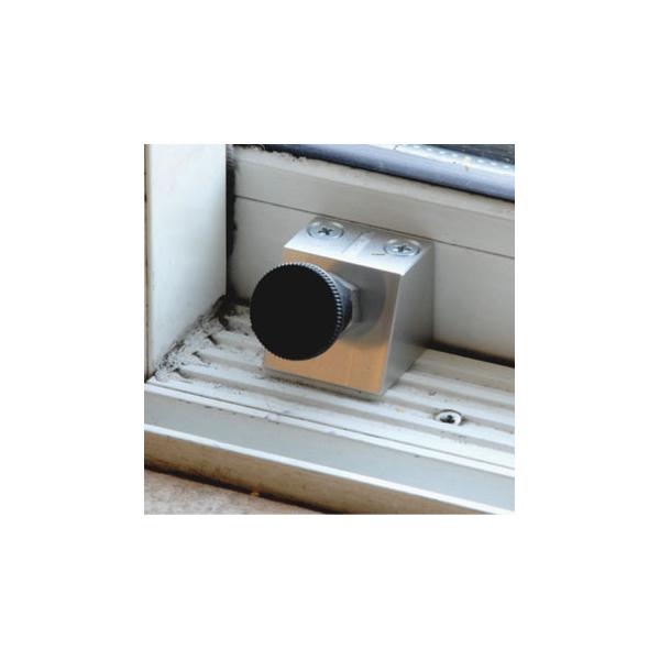 Ivess Anti Lift Patio Lock Silver L21669
