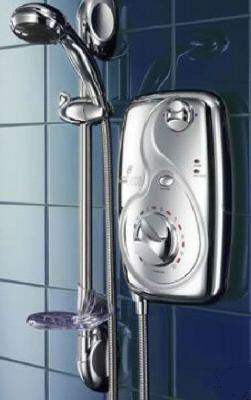 Galaxy Aqua 3000 All Chrome 8.5kW Electric shower - DISCONTINUED