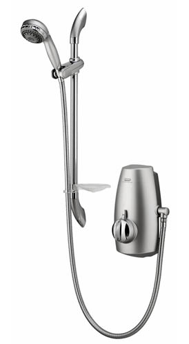 Aquastream Thermo - Exposed adjustable height head - chrome