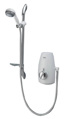 Aquastream Thermo - adj height hd system - in white/chrome