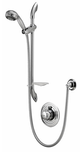 Aquavalve 700 Thermo - Concealed Chrome