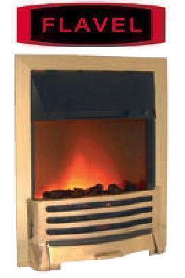 FLAVEL Arundel (Electric Fire) - Brass - 143850BS