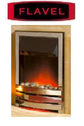FLAVEL Arundel Contemporary (Electric Fire) - DISCONTINUED - Silver - 143851SR