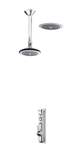 Axis Digital - Concealed with ceiling mounted fixed head