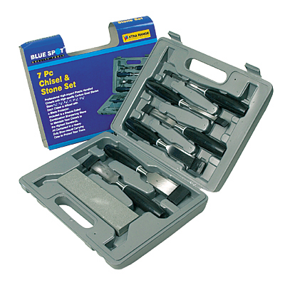 7PCE CHISEL AND STONE SET - 28123