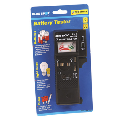 BATTERY BULB AND FUSE TESTER - 31114
