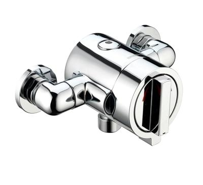 Bristan Chill Thermostatic Surface Mounted Shower Valve Chrome - CL CSHXVO C - CLCSHXVOC - DISCONTINUED