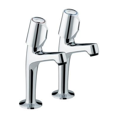 Bristan New Options High Neck Pillar Taps - ON HNK C CD - ONHNKCCD - DISCONTINUED