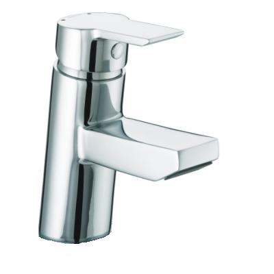 Bristan Pisa Basin Mixer with Clicker Waste - PS BAS C - PSBASC