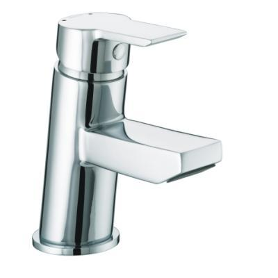 Bristan Pisa Small Basin Mixer with Clicker Waste - PS SMBAS C - PSSMBASC
