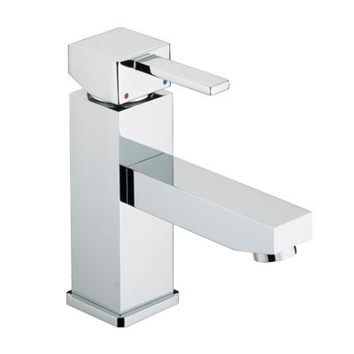 Bristan Quadrato Basin Mixer with Eco-Click and Pop-Up Waste - QD EBAS C - QDEBASC