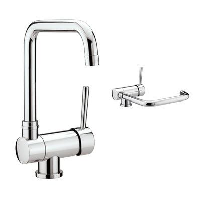 Bristan Jule Monobloc Sink Mixer With Pull Down Spout - JL SNK C - JLSNKC - DISCONTINUED