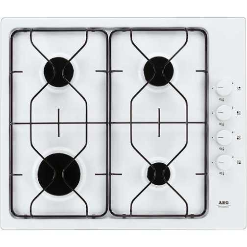 AEG 61402GW White Gas Hob - DISCONTINUED