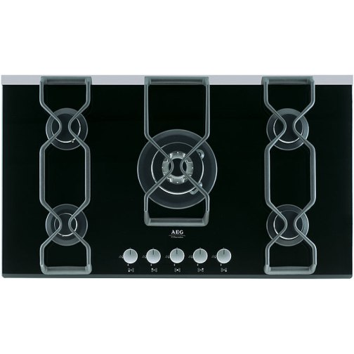 AEG 99852GA Gas Hob Black - DISCONTINUED