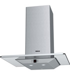 Chimney extractor hood with glass canopy - DKE665MGB