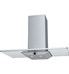 Chimney extractor hood with glass canopy - DKE965MGB DISCONTINUED