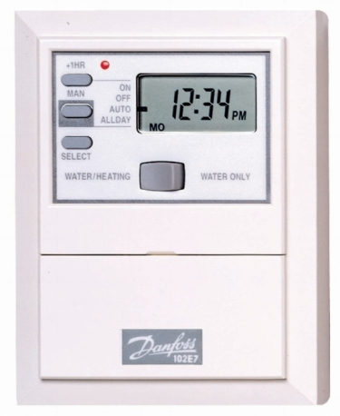Danfoss 102E7 Electronic, 7 day or 5/2 day mini-programmer