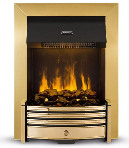 Dimplex Crestmore Opti-Myst Fire Brass - CRS20 - SOLD-OUT!!