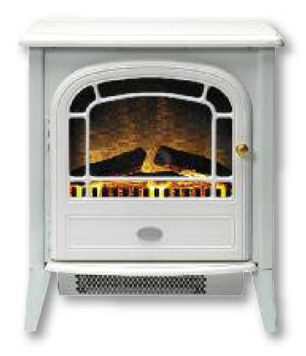 Dimplex Courchevel Electric Stove White - CVL20