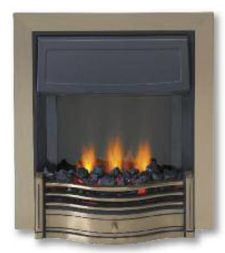 Dimplex Danesbury Electric LED Fire Antique Brass - DAN20AB-LED