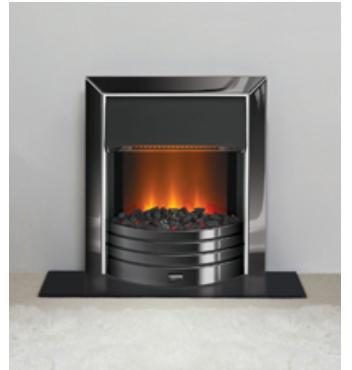 Dimplex Freeport Inset Electric Fire Black Nickel - FPT20BN