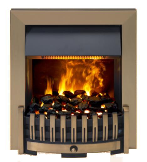 Dimplex Danville Opti-Myst Fire Antique Brass - DNV20AB - SOLD-OUT!!