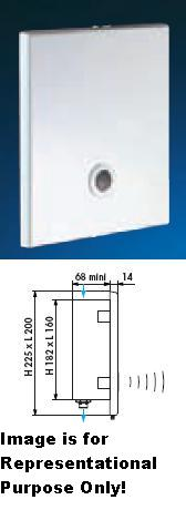 TEMPOMATIC Recessed Urinal 1/2-12V AC - DD 428000