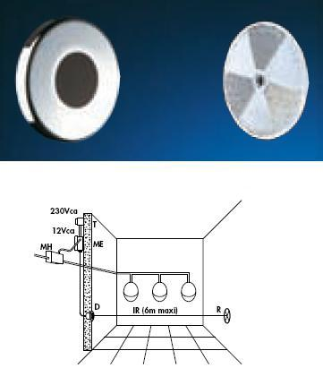 "Recessed TEMPOMATIC ""Multi"" Urinal 230/12V AC - DD 487626"