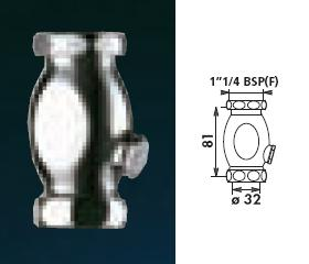 "Urinal Vertical Waste 1""1/4 BSP(F)- Diameter ( ø ) 32 - DD 780000"