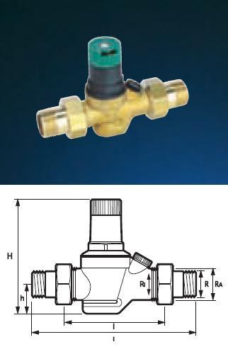"Pressure Reducing Valve - 3/4"" PRV05 Light Commercial - DD 850220"