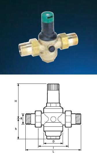 "Pressure Reducing Valve - 1 1/4"" PRV06 Commercial - DD 860232"
