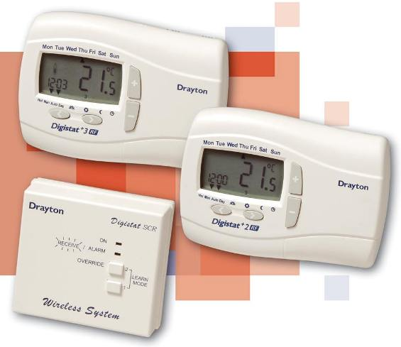 Drayton Digistat +2RF - Wireless programmable thermostat
