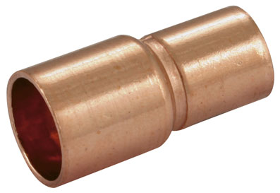 10mm x 8mm End Feed Reducing Coupling - EF-10-8
