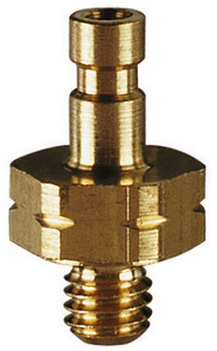 M3 METRIC MALE PLUG BRASS UNPLATED - 02SFAM03MXX