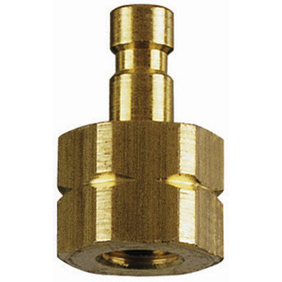 M3 METRIC FEMALE PLUG BRASS UNPLATED - 02SFIM03MXX