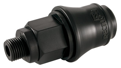 1/8 BSP MALE DELRIN SOCKET - 21KBAW10DPX